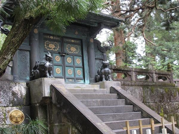 Ворота у могилы Токугавы