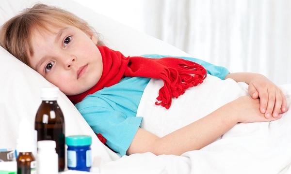 Ребенок больной ангиной