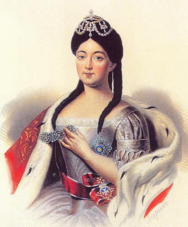 Дочь Петра I Анна Петровна Романова