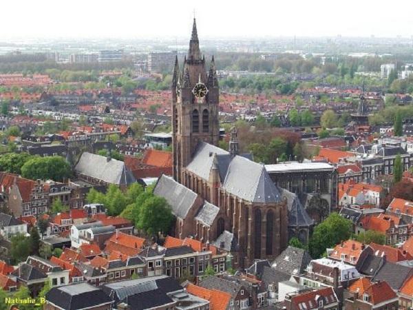 Церковь Ауде керк в Амстердаме