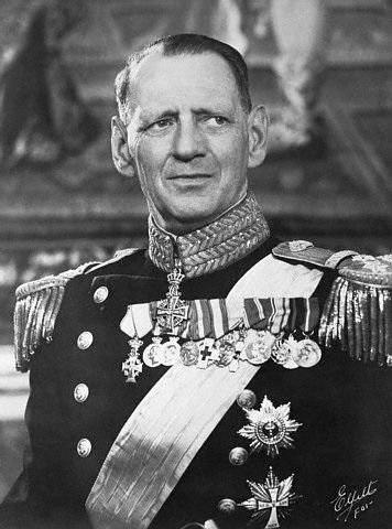 Король Дании Фредерик IX