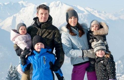 Датский принц Фредерик, Мэри и их дети