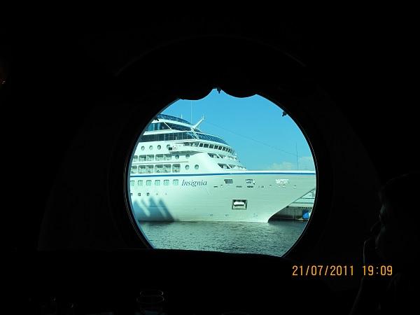 Отплытие из Санкт-Петербурга в Киль