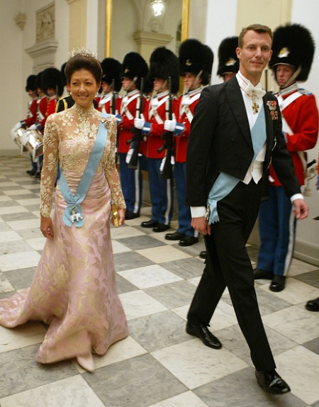 Принц Иоахим и принцесса Александра
