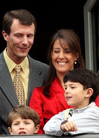 Датский принц Иоахим и Мари Ковалье