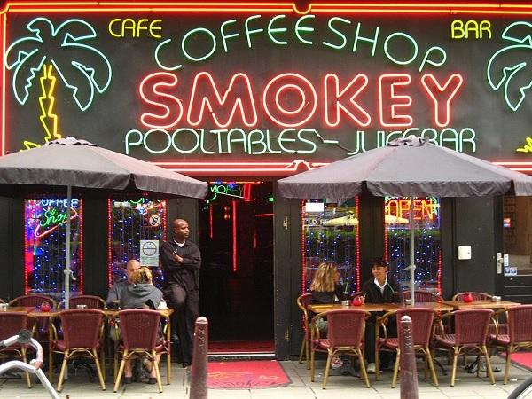Кафе-шоп в Амстердаме
