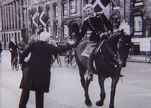 Датский король Кристиан Х