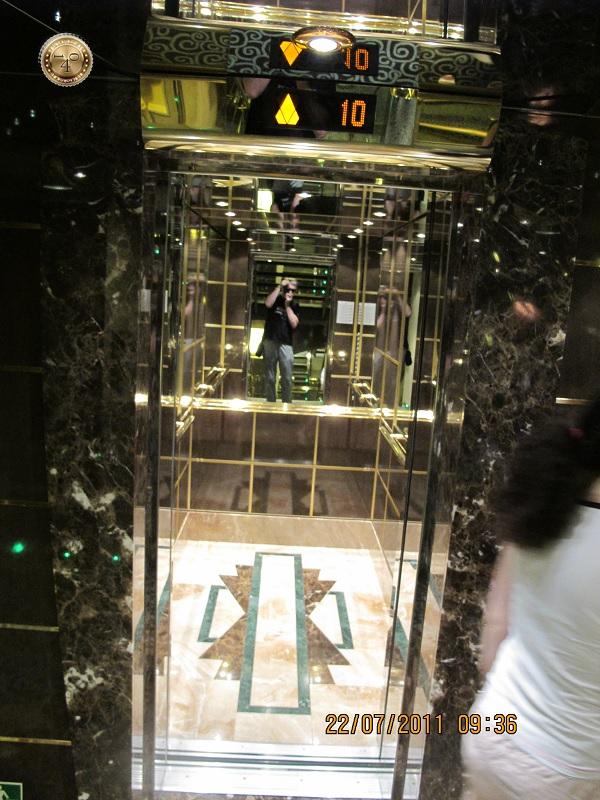 Падающий лифт
