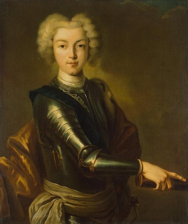 Внук Петра I Петр Алексеевич Романов (Петр II)