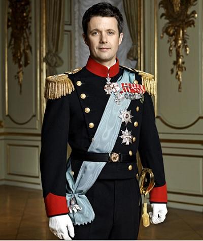 Датский принц Фредерик старший сын Маргрете II