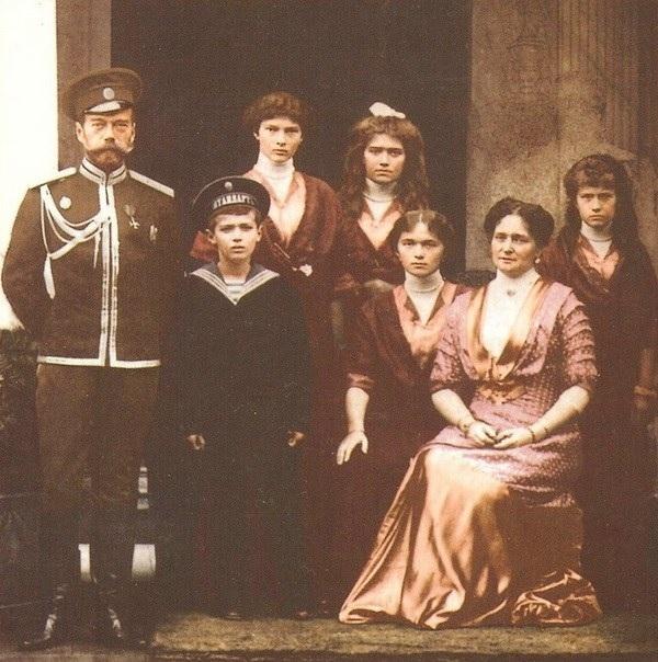 Семья последнего российского царя