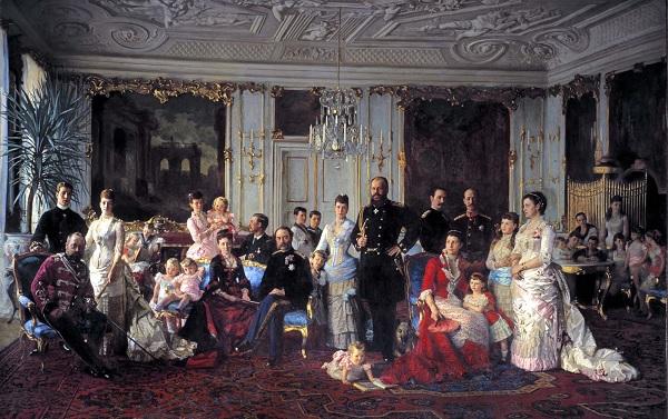 Семья датского короля в сборе