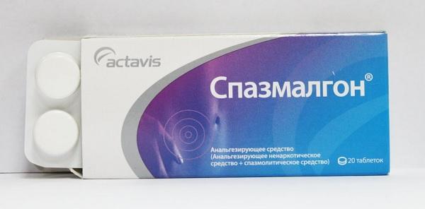 Спазмалгон от гловной боли