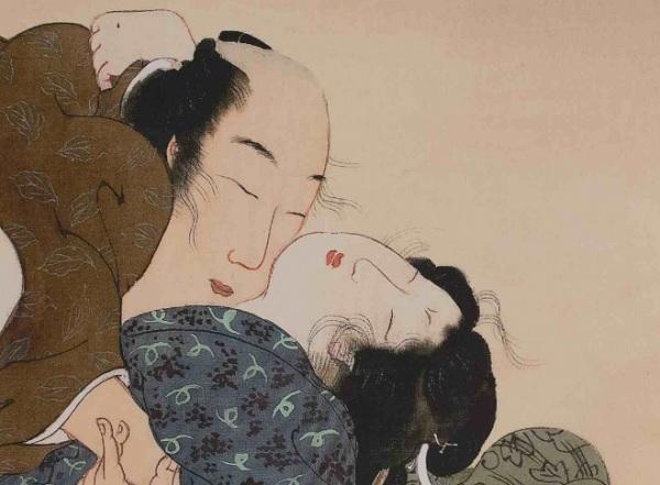 Японская эротическая живопись сюнга