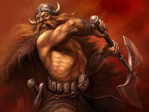 Берсерки - воинская элита норманнов