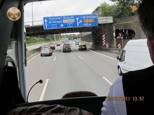 По дороге в Гамбург