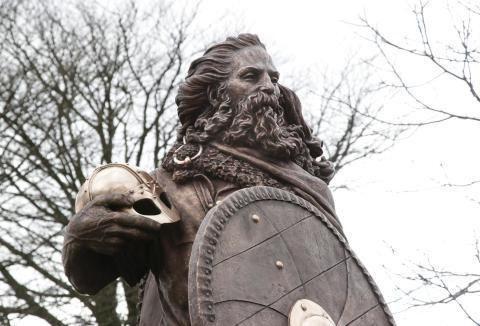 Первый король Норвегии Харальд Прекрасноволосый