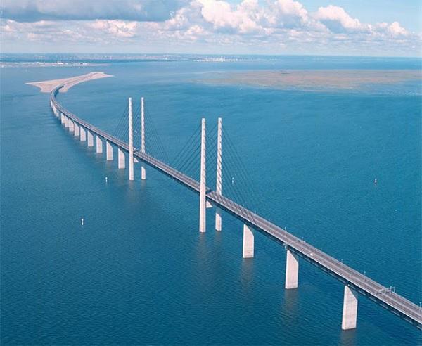Длинный мост в Копенгагене