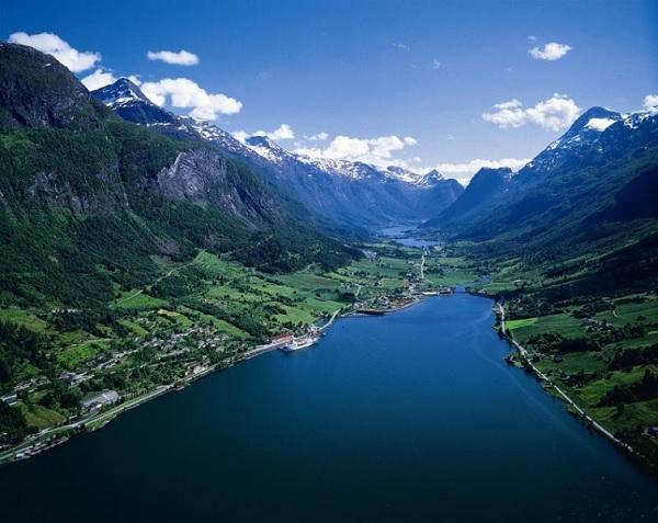 Нордфьорд в Норвегии
