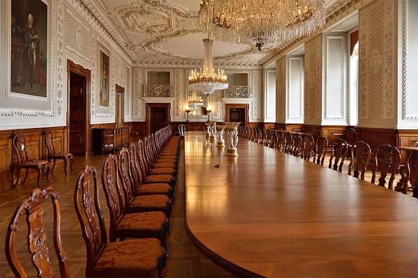 Обеденный зал в Кристианборге