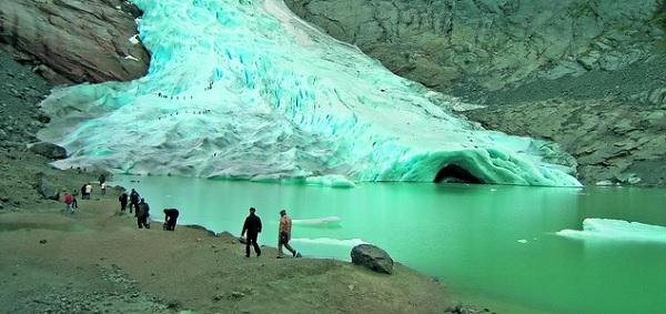 Ледяное озеро Олден