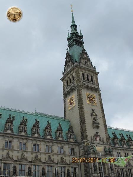 Здание ратуши в Гамбурге