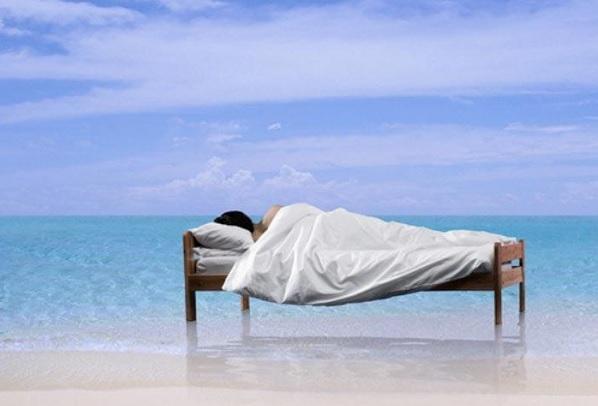 Сон на море