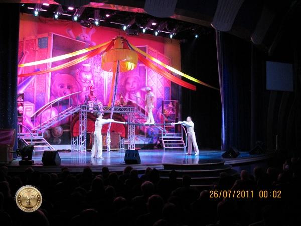 Цирк на корабле