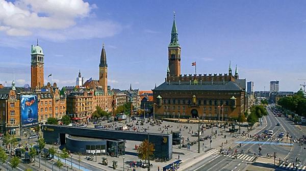 Городская ратуша Копенгагена
