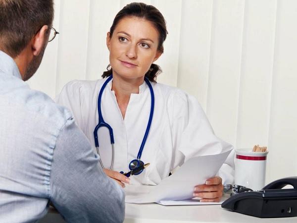 На приеме у врача иммунолога