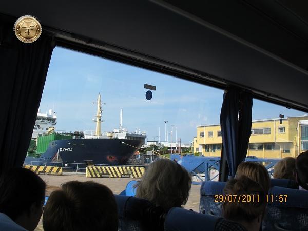экскурсионный автобус в Гетеборге