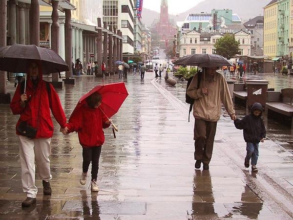 Дождливый Берген
