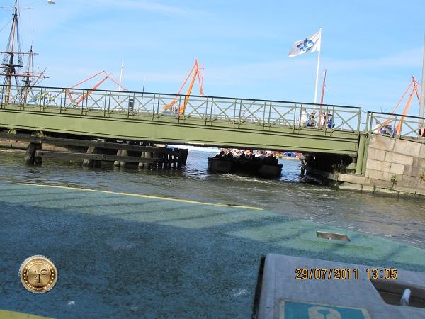 Самый низкий мост в Гётеборге
