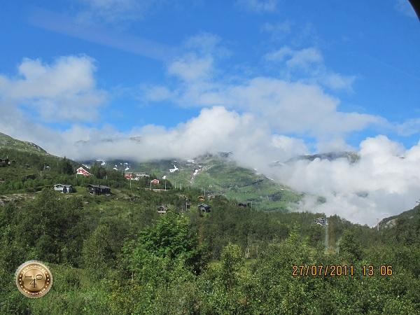 Облака на горных вершинах
