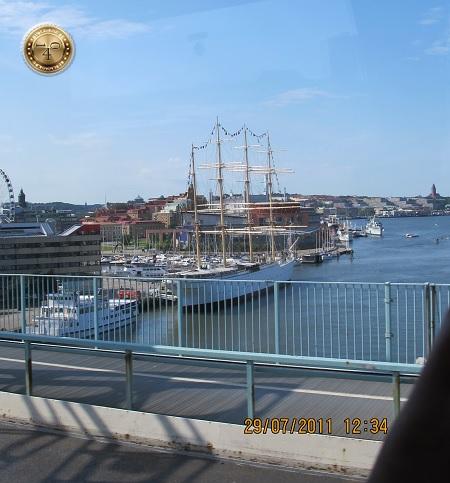 Корабль-парусник в Гётеборге
