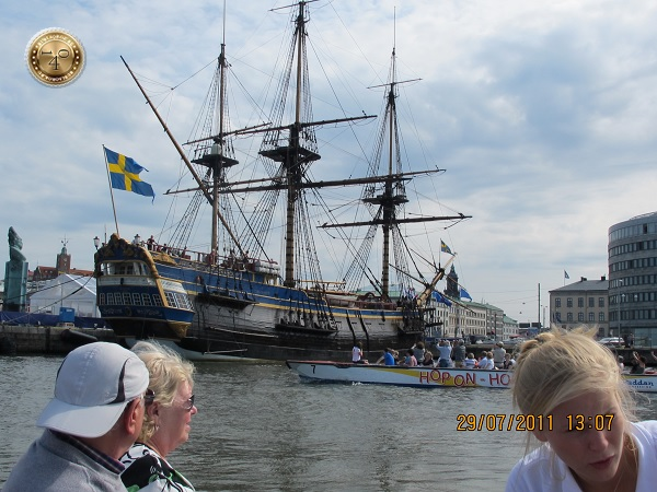 Парусный корабль в Гётеборге