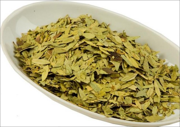 Засушенный сенной лист