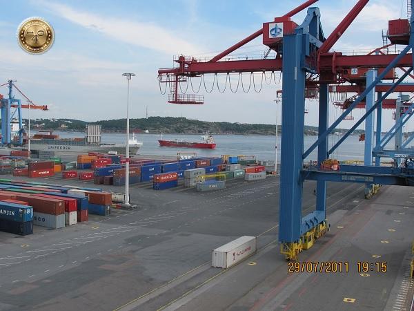 В порту Гётеборга