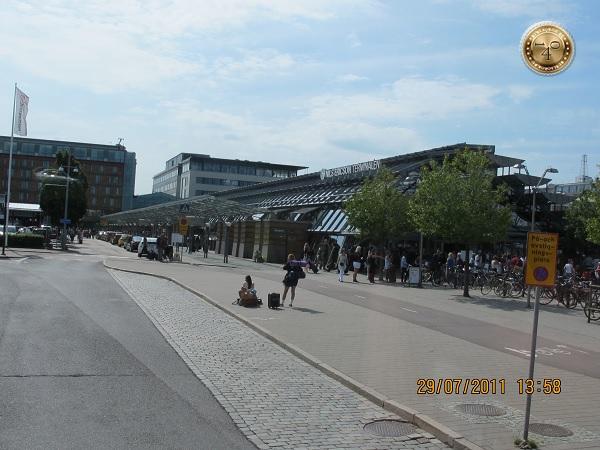 Железнодорожный вокзал в Гётеборге