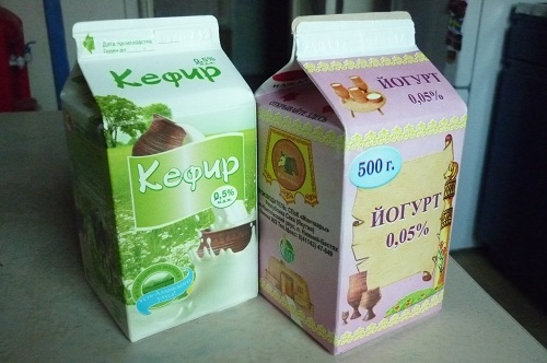 Кефиры и йогурты