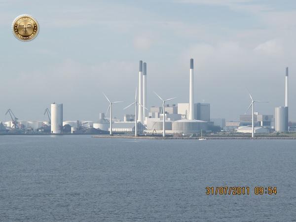 Вид на Копенгаген с моря