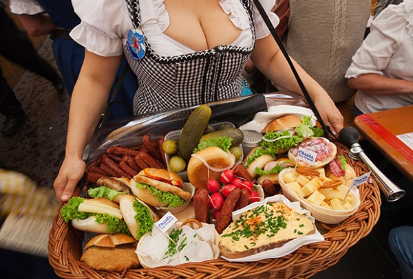 Закуска на Октоберфест