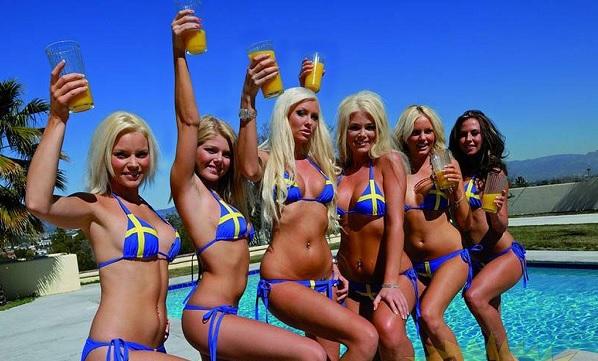 Эмансипированные шведки