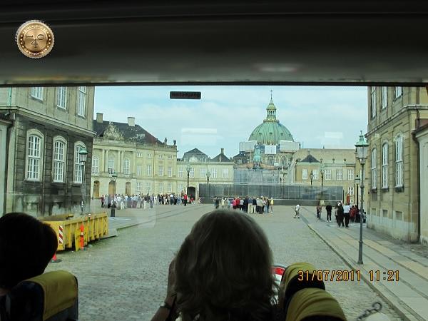 Резиденция королевы Амалиенборг