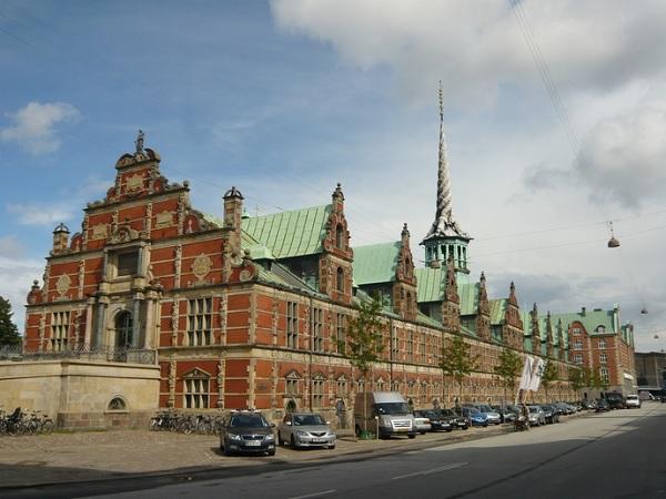 Фондовая биржа в Копенгагене