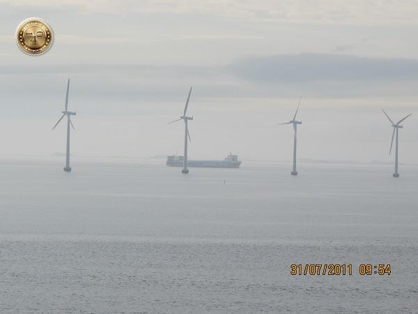 Ветряные электростанции в море