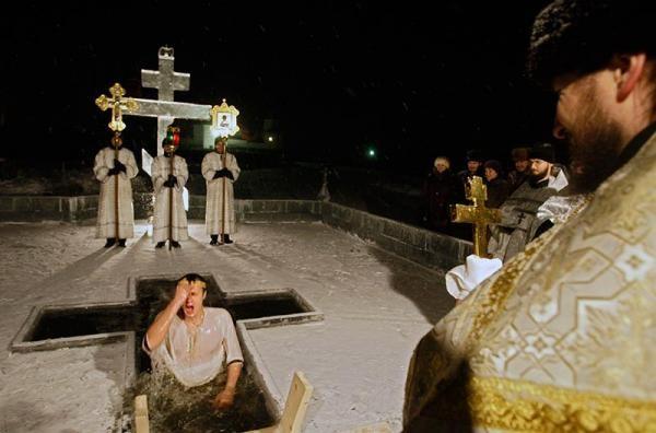 Крещение в зрелом возрасте