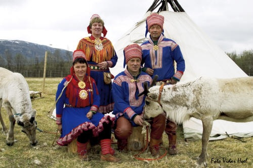 Новые шведские саами