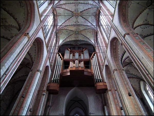 Орган в Мариенкирхе в Любеке