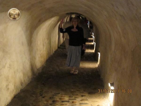 Тоннель в казематы